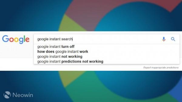 Google відмовиться від миттєвого пошуку