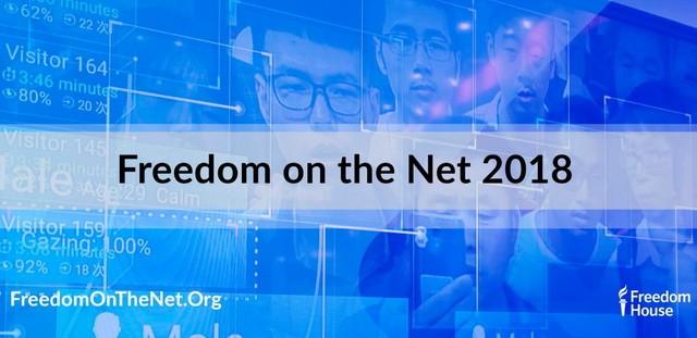 Freedom House назвав Україну частково вільною у свободі інтернету